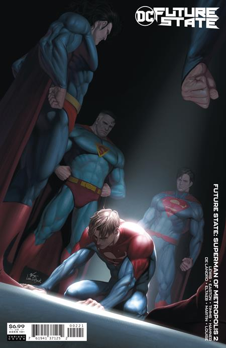 Future State: Superman of Metropolis #2 In-Hyuk Lee Card Stock Variant (2021)