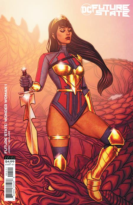 Future State: Wonder Woman #1 Jenny Frison Card Stock Variant (2021)