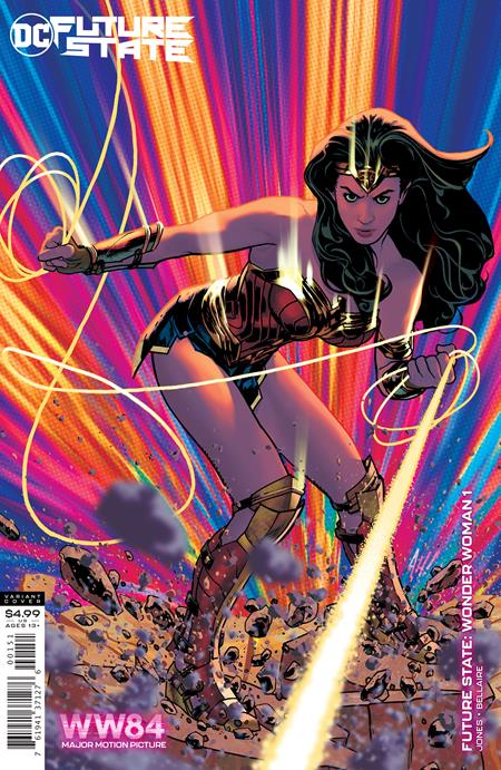 Future State: Wonder Woman #1 Adam Hughes Card Stock Variant (2021)