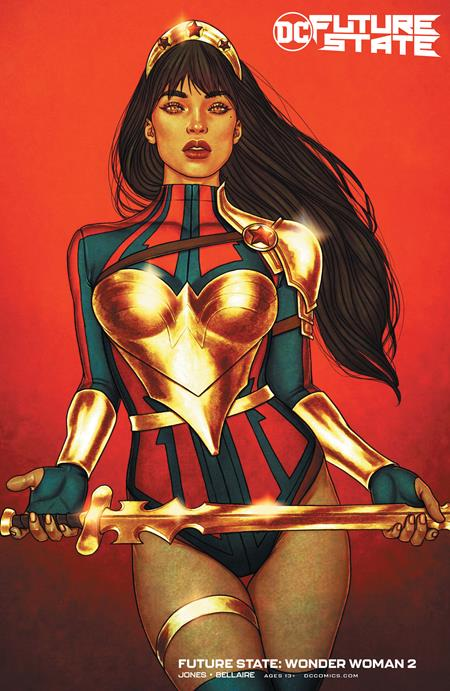 Future State: Wonder Woman #2 Jenny Frison Card Stock Variant (2021)