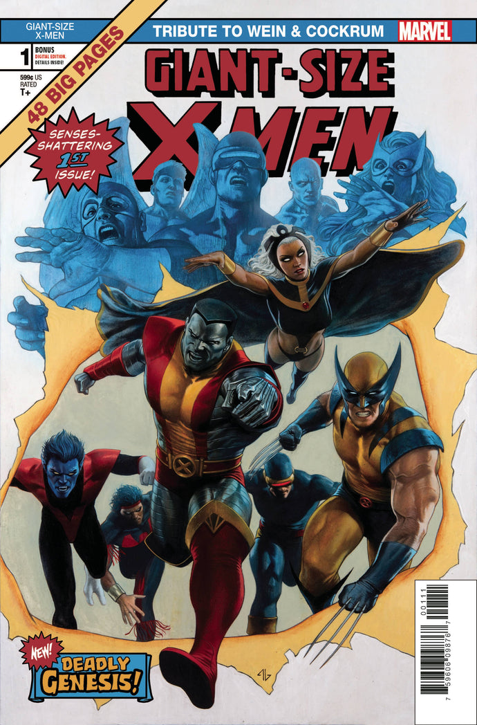 Giant Size X-Men #1: Tribute Adi Granov (2020)
