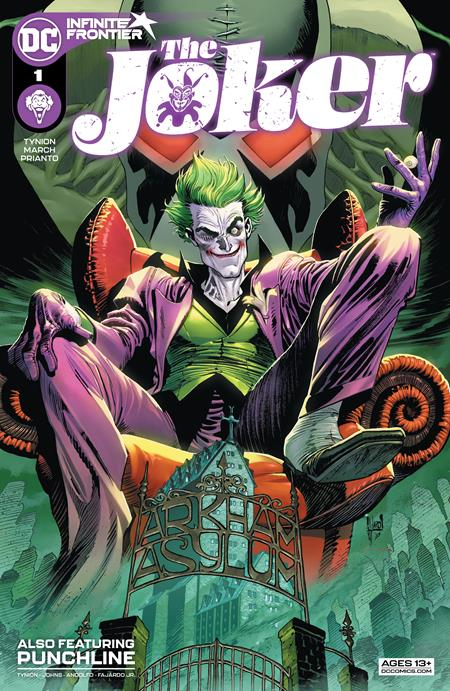 The Joker #1 Guillem March Cardstock Cover (2021)