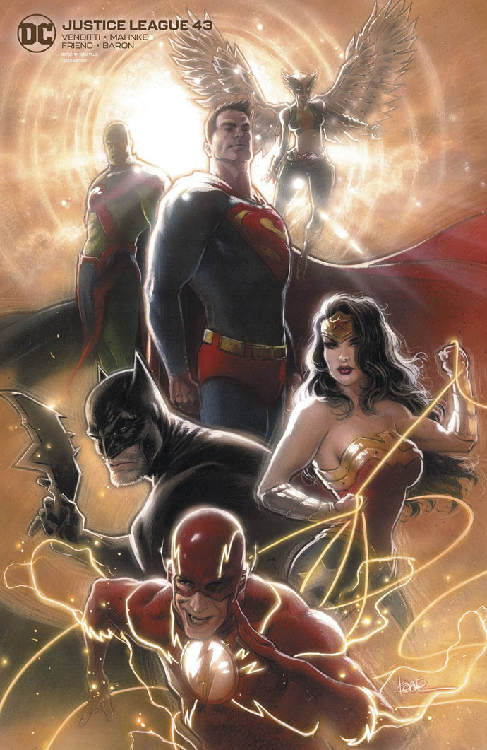Justice League #43 Andrews Card Stock Variant (2020)
