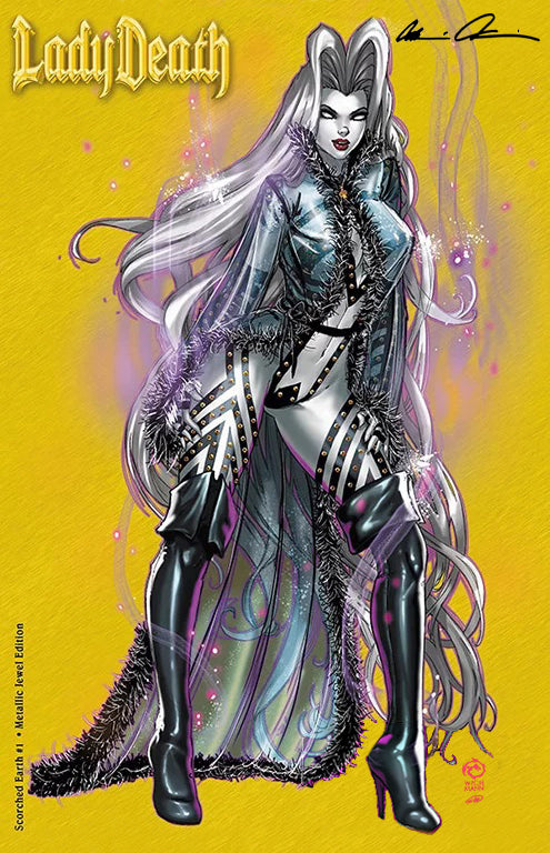 Lady Death: Scorched Earth #1 Metallic Jewel Variant
