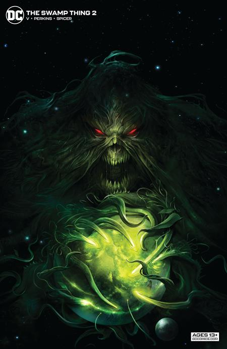 Swamp Thing #2 Francesco Mattina Card Stock Variant (2021)