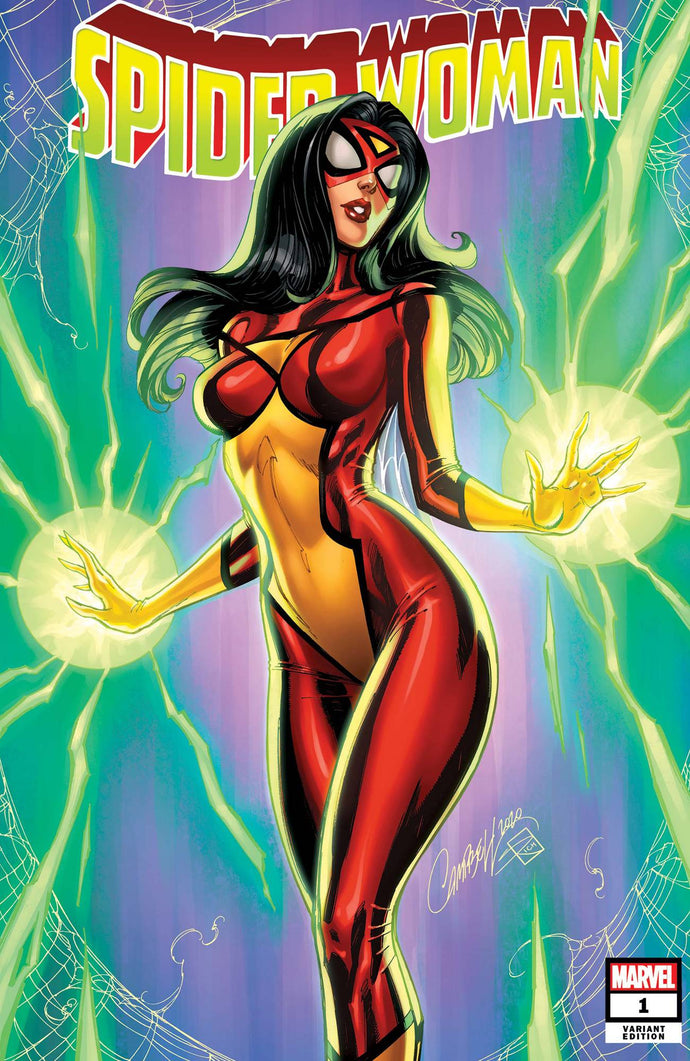 Spider-Woman #1 J. Scott Campbell Variant (2020)