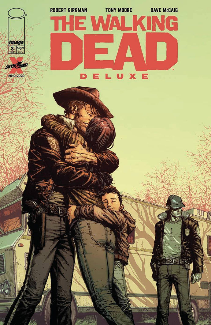 Walking Dead Deluxe #3 David Finch (2020)