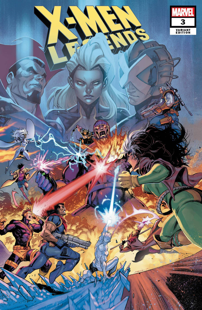 X-Men Legends #3 Iban Coello Connecting Variant (2021)