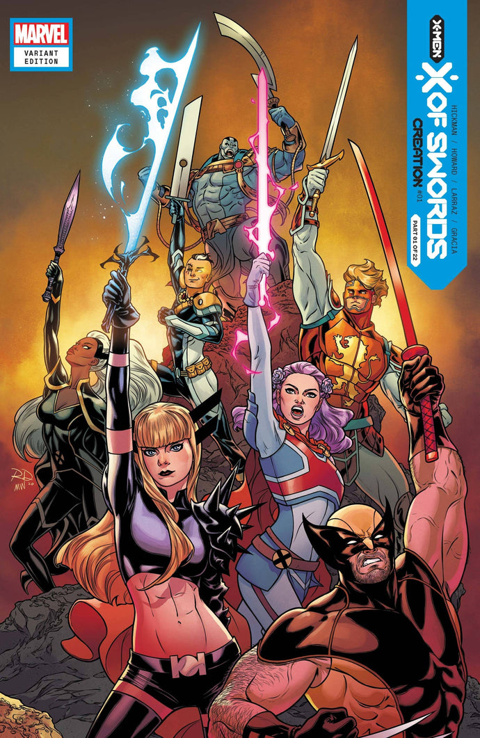 X of Swords: Creation #1 Russell Dauterman Launch Variant (2020)