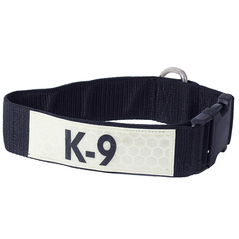 K9 IDENTIFICATION COLLAR, WITH K9 GLO-FLEX
