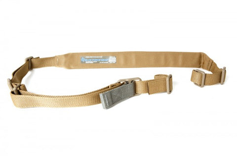 Vickers Padded Sling, Two-Point w/ Quick Adjust - Coyote Brown