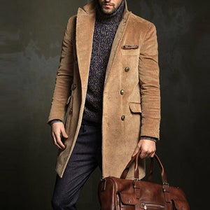 Medium Long Corduroy Coat