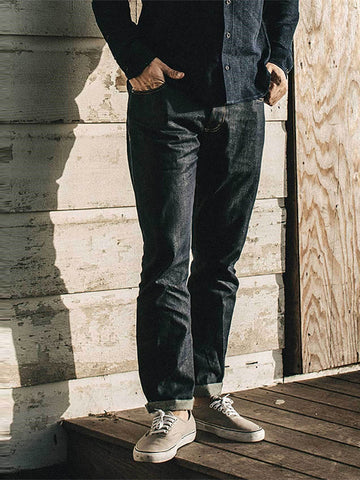 Mens Classic Casual Straight Jeans