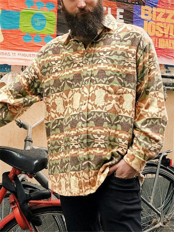 Mens Casual Print Shirt