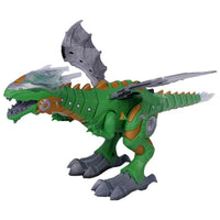Walking Spray Dinosaur Robot With Light Sound Mechanical Dinosaurs Model Toy For Kids Children
