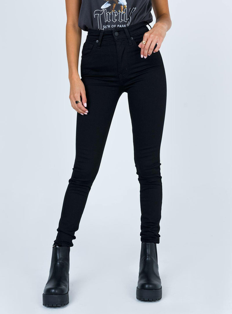 Mile High Super Skinny - Black Celestial