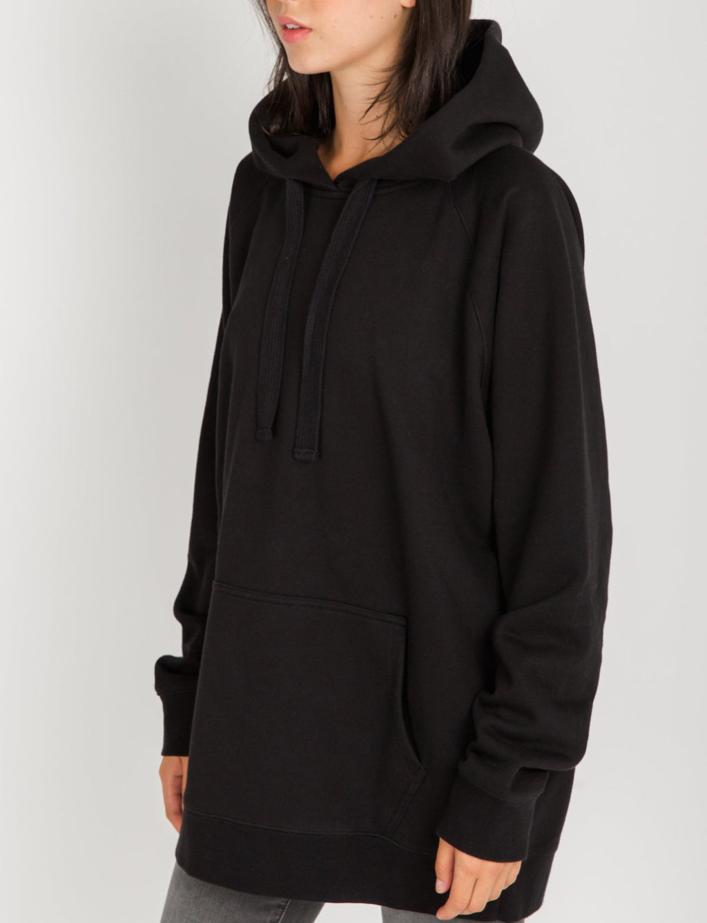 "The ""Babes Supporting Babes"" Big Sister Hoodie - Black"