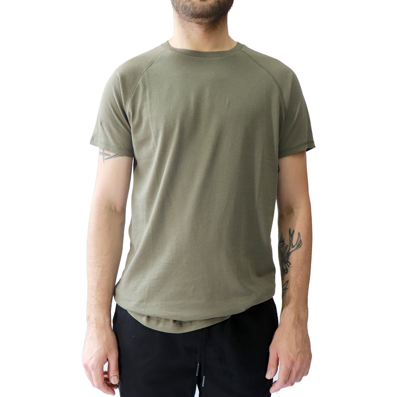 Men's Organic Cotton Tee - Olive