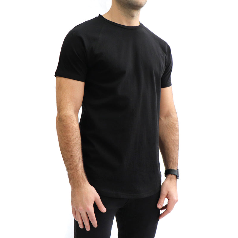 Men's Organic Cotton Tee - Black