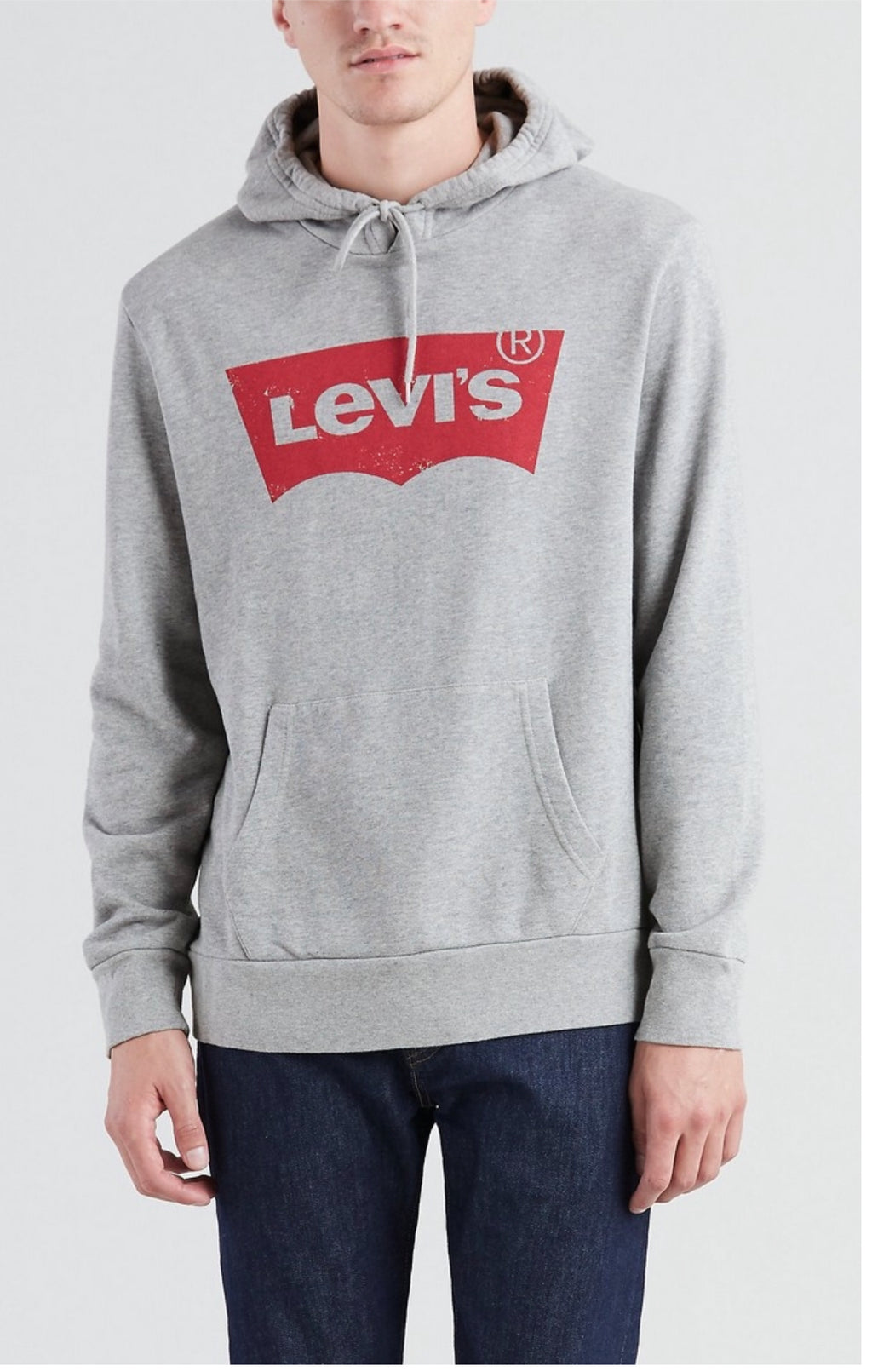 Men's Graphic Hoodie - Grey