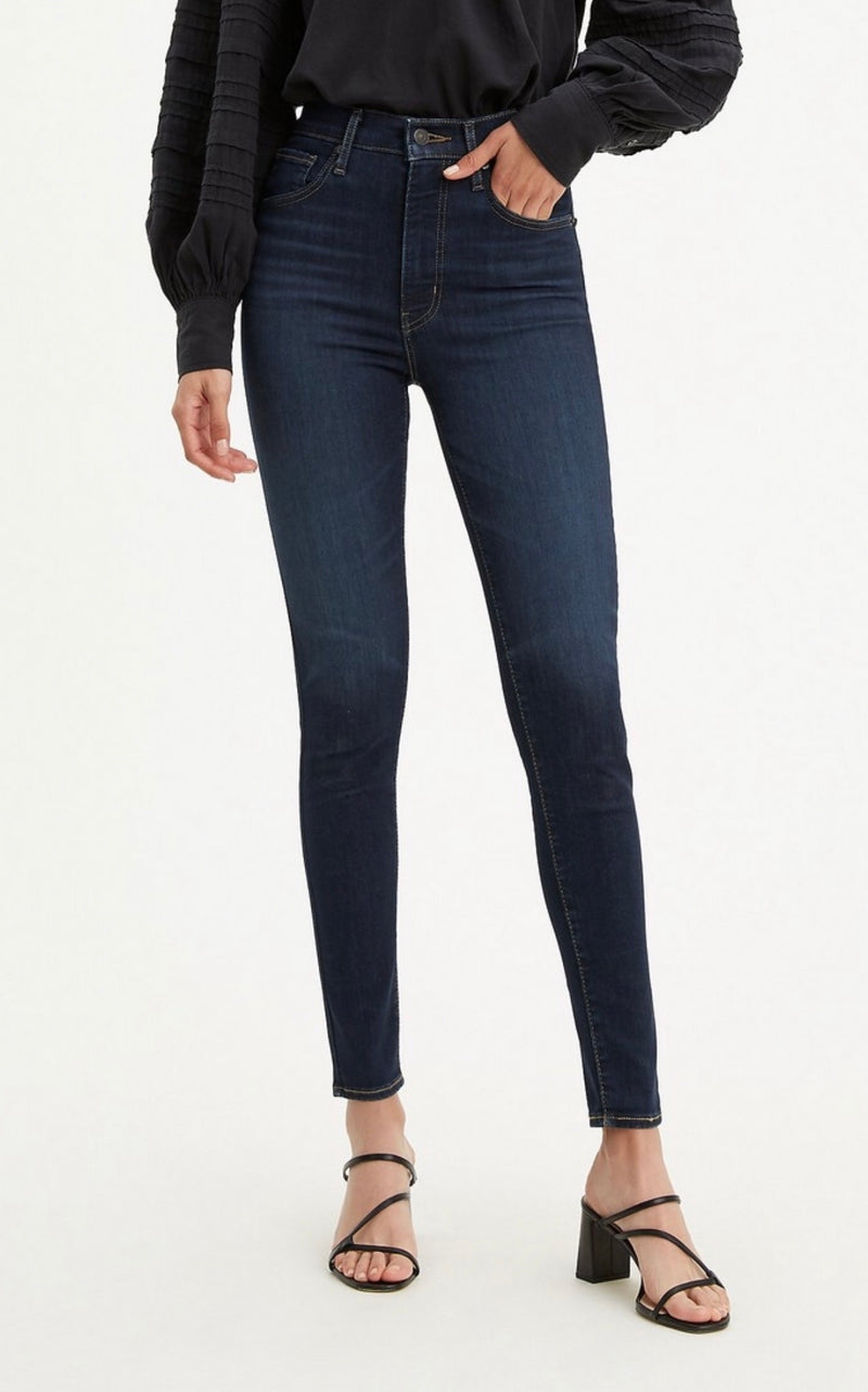 Levi's Mile High Super Skinny - Echo Darkness