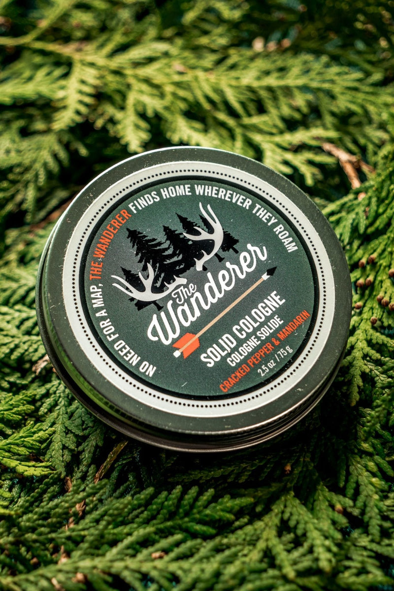 WW The Wanderer Solid Cologne in Cracked Pepper & Mandarin