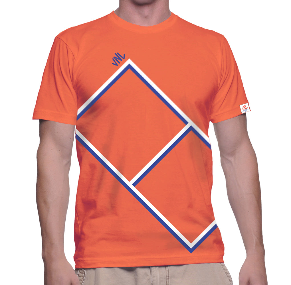 Mens VNL Court Tee Orange