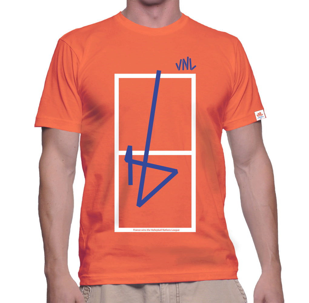 Mens VNL Game Tee Orange