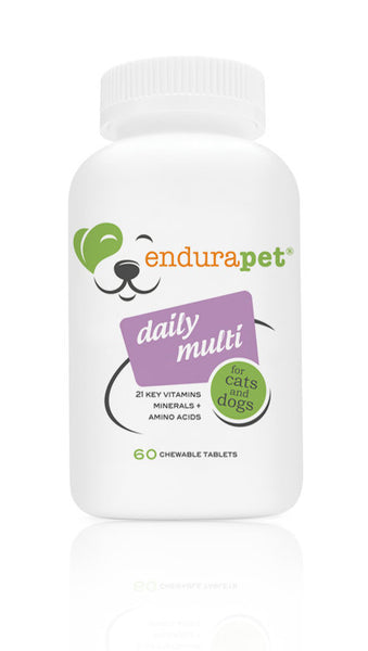 endurapet® Daily Natural Multi-Pet Vitamins for Cats and Dogs
