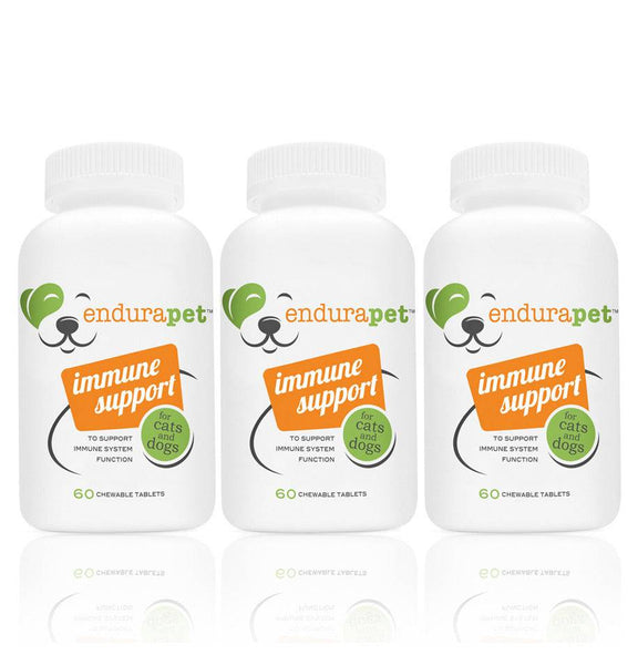 endurapet® Immune Support (3) pack for Cats and Dogs