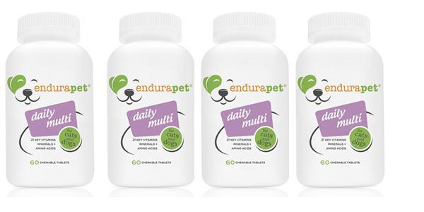 endurapet® Daily Multi (4) pack Multi-Vitamins for Cats and Dogs