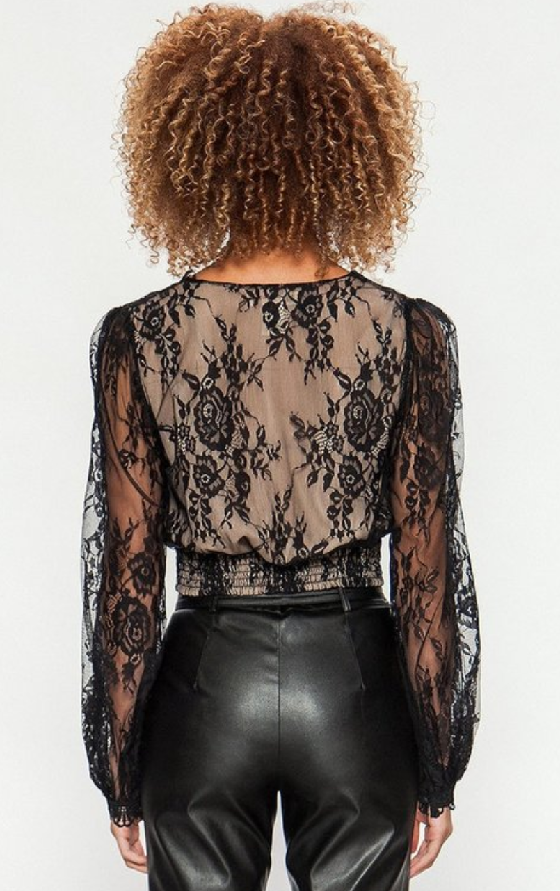 Victorian Lace Crop Top