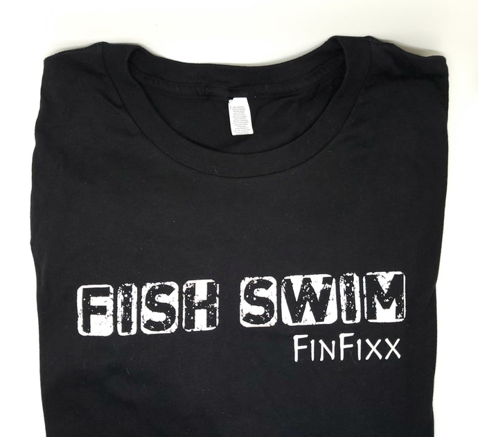 FISH SWIM long sleeve comfort T