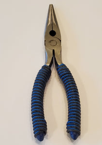 Black / Blue hand wrapped pliers