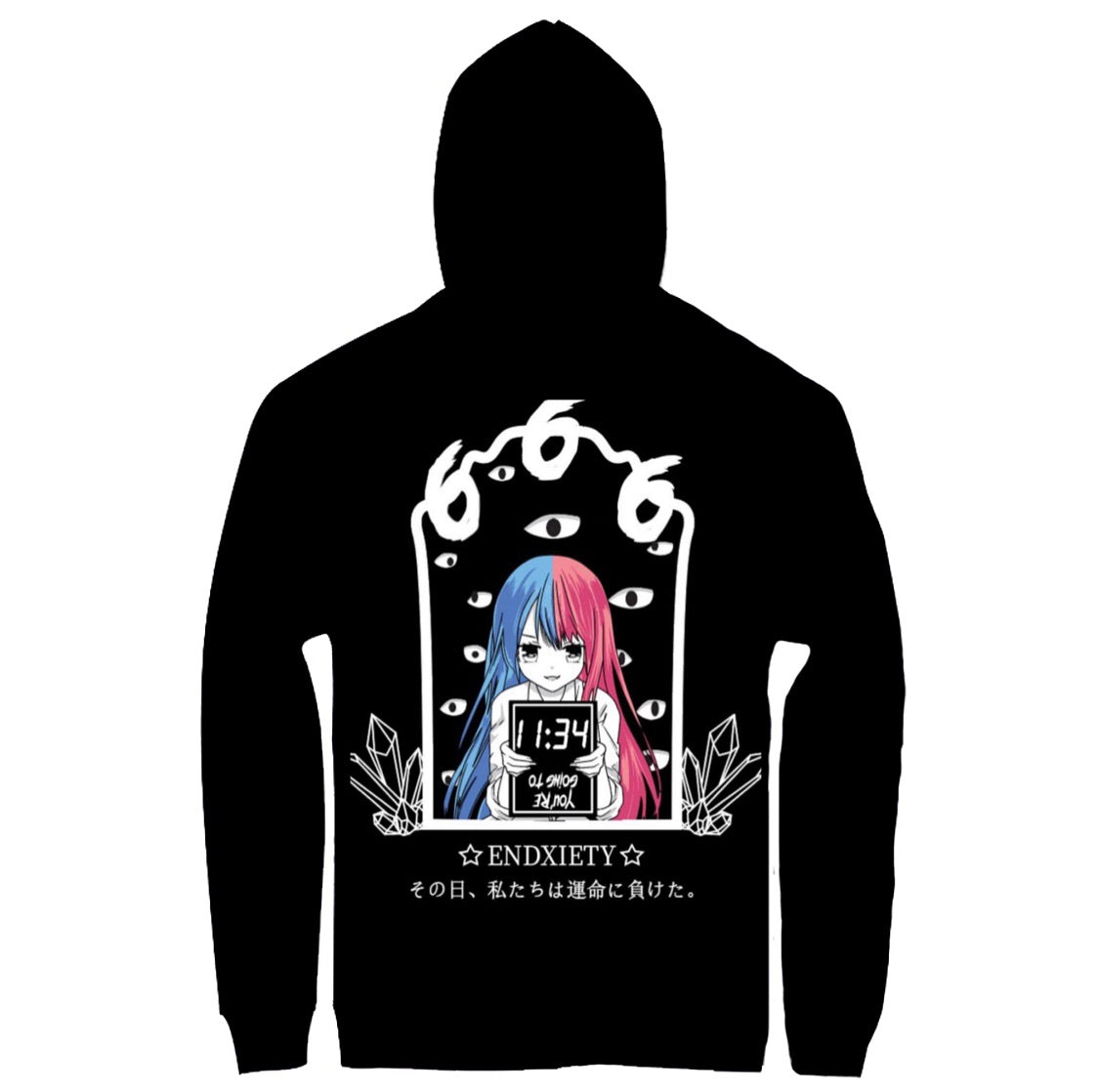 KimojixStyle X Endxiety Collab Hoodie (Click The Link Below To Purchase!)