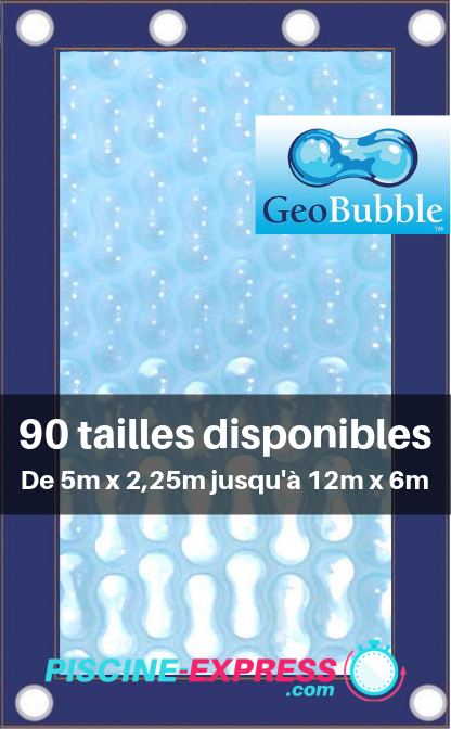 Bâche Geobubble 500μ - Coloris Transparent Sol Guard - Luxe