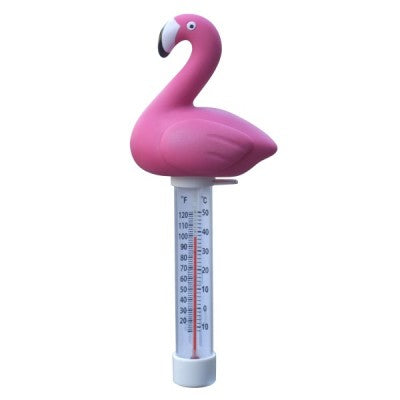 Thermometre Flamant Rose