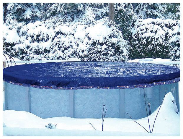 Bache Hiver Piscine Hors Sol Ovale 8.60 X 5.70 M