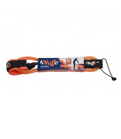 Skiffo Surf Leash Straight / 9' / 7mm / Orange