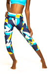 Women's Printed Running Tights