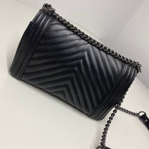 Classic quilted  Bag - Black