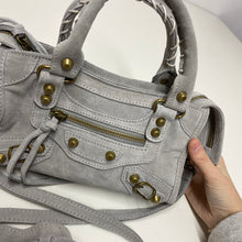 Load image into Gallery viewer, mini city bag - Dove grey
