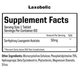Laxobolic Anabolic Warfare Supplement Facts