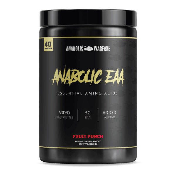 Anabolic EAA Fruit Punch Anabolic Warfare