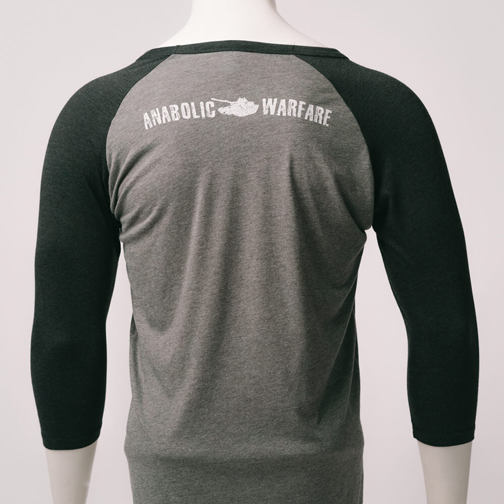 Anabolic Warfare Flag Tri-Blend 3/4 Sleeve Raglan
