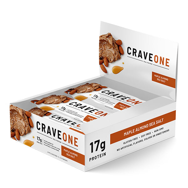 NutraOne CraveOne Chocolate Maple Almond Sea Salt