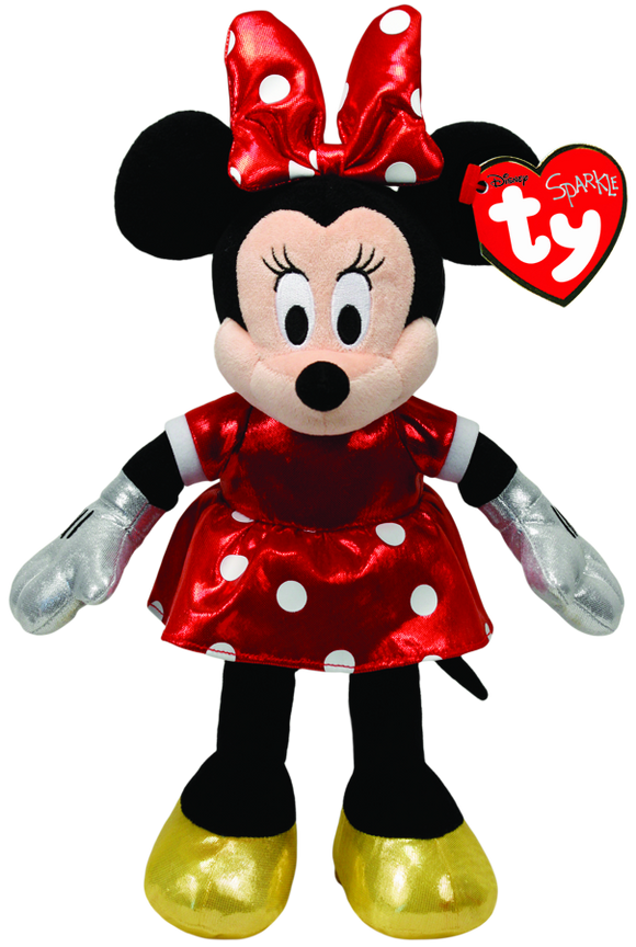 Ty Beanie Boos 'Sparkle' Minnie Mouse
