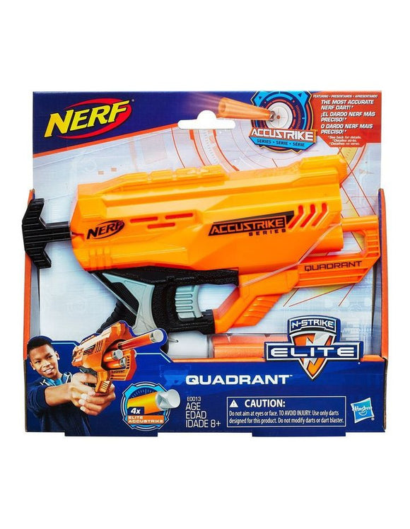 Nerf Elite Accustrike Quadrant