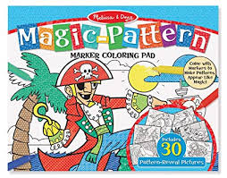 Magic Pattern Colouring Pad - Pirate