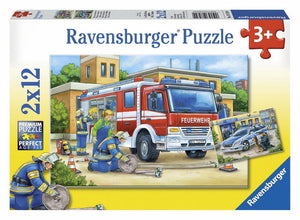 Ravensburger Police and Firefighters Puzzle